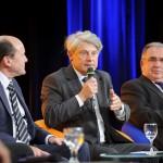 de gauche à droite Michel Collin, Yves Fouchet et Didier Desnus